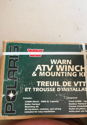 ATV winch and mounting kit for Sale in Gilbert, AZ