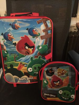Angry bird backpack two bag set for Sale in Pittsburgh, PA