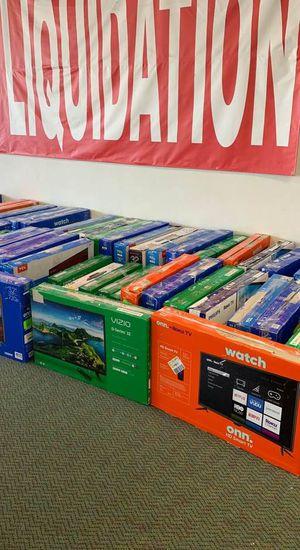 32 inch TV's !! Open Box TV Liquidation! Vizio, Onn, TCL and more! All new with Warranty! B6EC for Sale in Dallas, TX