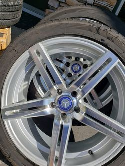 20 inch wheels w/ tires for Sale in Beaverton,  OR