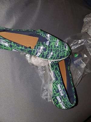 Seahawks slip on shoes for Sale in Puyallup, WA