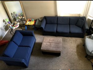 Couches Blue for Sale in Mesa, AZ