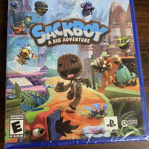 Ps5 Sackboy A Big Adventure 50$ Brand New Firm for Sale in Fontana, CA