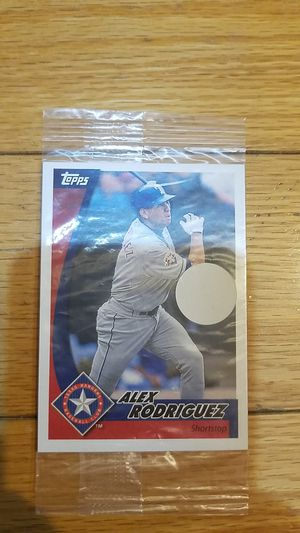 Texas Ranger Arod baseball card sealed 2002 Post cereal Topps for Sale in Westbury, NY