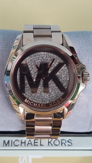 New Authentic Michael Kors Women's Rosegold Bling Face Watch 🎁🎁🎁🎁 for Sale in Commerce, CA