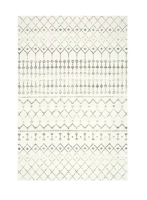 """nuLOOM Moroccan Blythe Area Rug, 5' x 7' 5"""", Grey/Off-white for Sale in Reno, NV"""