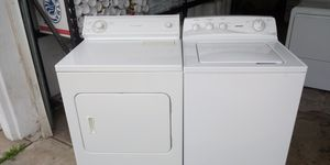 Hotpoint washer Whirlpool dryer electric large capacity for Sale in Phoenix, AZ