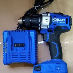 Kobalt 24-Volt Max 1/2-in Brushless Cordless Drill (Charger Included and 1-Battery Included) for Sale in Temple, GA