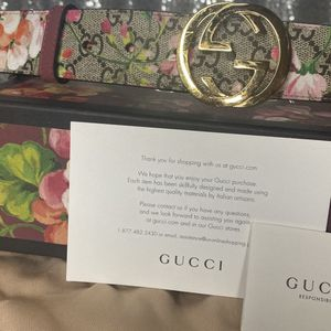 Women's Gucci Pink Blossom Belt for Sale in Alexandria, VA