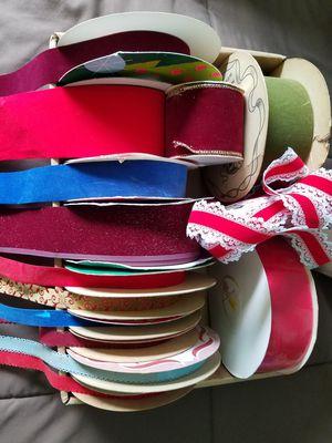 Velvety finish ribbon for Sale in Fullerton, CA