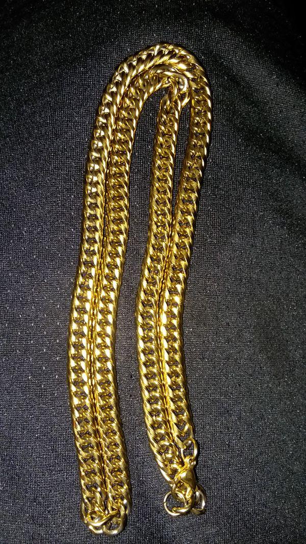 18 karot Gold Chain.