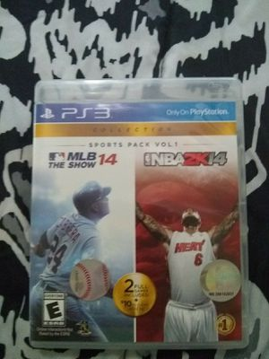 PS3 game sports collection Volume 1 for Sale in Swainsboro, GA