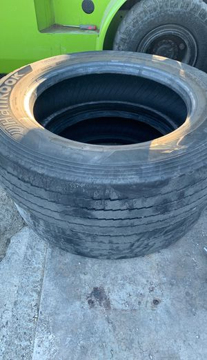***Price Dropped***2 Hancook 255/70r 22.5 tires off of flatbed tow truck for Sale in Fresno, CA