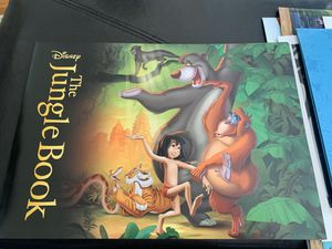 Disney the jungle book lithographs for Sale in South San Francisco, CA