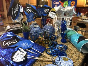 Class 2019 Party Decor make offer before we pitch! for Sale in Tarpon Springs, FL