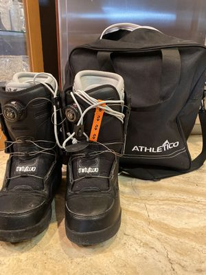 ThirtyTwo Niu BOA Snowboard Boots, Size 7.5 + Bag! for Sale in Chino Hills, CA