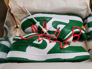 Off White Nike Dunk Lows Size 9.5 for Sale in San Gabriel, CA