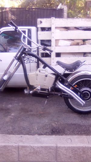 Chopper style electric bicycle for Sale in Riverside, CA