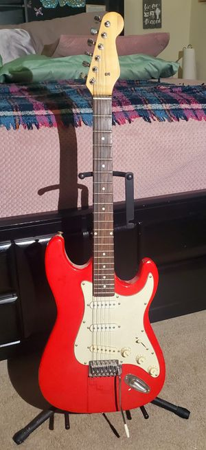 RED ELECTRIC GUITAR for Sale in Raleigh, NC