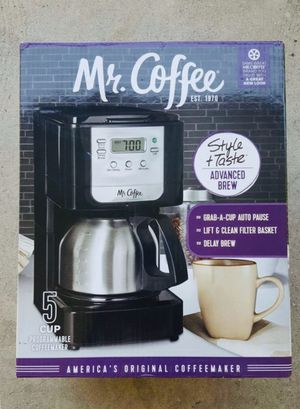 Mr. Coffee Coffee Maker 5-cup for Sale in Glendora, CA