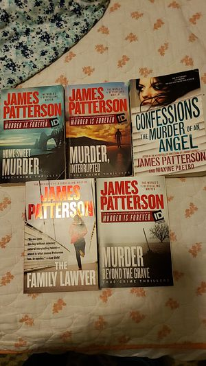 James patterson for Sale in Puyallup, WA