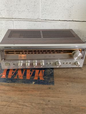 Onkyo servo locked stereo receiver TX-1500-2 for Sale in Penn Valley, PA