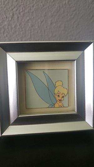 Disney framed Tinkerbell pin for Sale in Manteca, CA