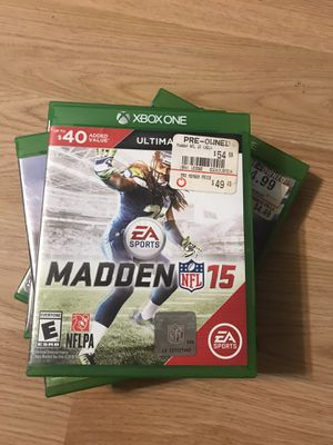 Xbox game Madden 15 for Sale in Salisbury, MD