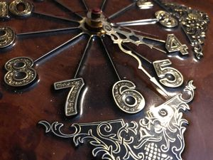 Antique wooden clock for Sale in Wichita, KS