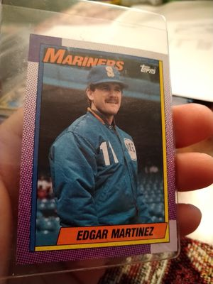 Edgar Martinez 1990 Topps Rookie Baseball Card for Sale in Port Richey, FL