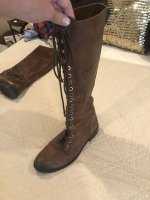 Lace up boots for Sale in Escondido, CA