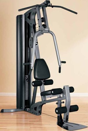 Parabody gs1 home gym 160lb weight stack for Sale in St. Peters, MO