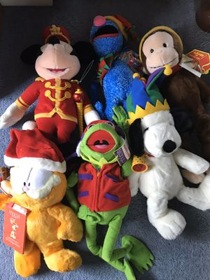Macy's collectable stuffed animals for Sale in Toms River, NJ