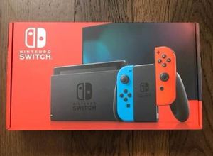 Nintendo Switch with Neon Joy Cons BRAND NEW UNOPENED! for Sale in Kissimmee, FL