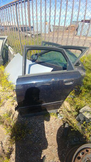 2004 Audi a4 drivers rear door navy blue for Sale in Phoenix, AZ