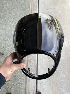 Harley Davidson Softail bullet fairing for Sale in Fontana, CA