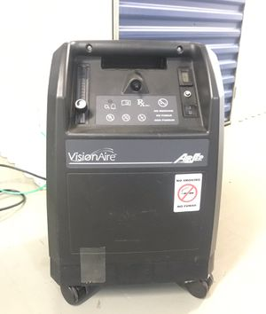 Visionaire vision aire airsep oxygen concentrator and 3 tanks for Sale in Arlington, VA