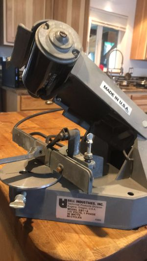 Chainsaw sharpener, Made In USA by Bell Industries, model kb1-a for Sale in Eugene, OR
