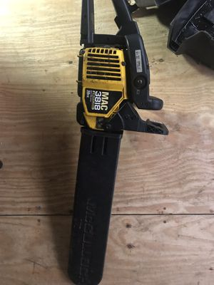 McCulloch MAC 3818 chainsaw Parts only for Sale in Baltimore, MD