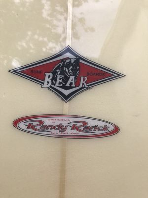 Randy Rarick Bear Gun Surfboard for Sale in Santa Monica, CA