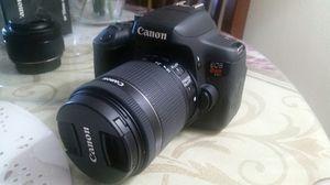Canon Eos Rebel T6i for Sale in Fairfax Station, VA