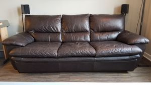 Leather couch for Sale in Washington, DC