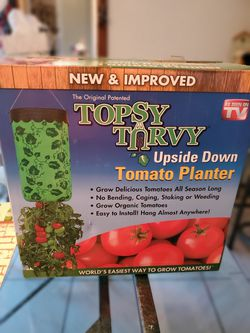 Topsy turvy upside down tomato planter for Sale in Toppenish,  WA