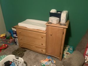 Solid Wood Changing Table for Sale in Kent, WA