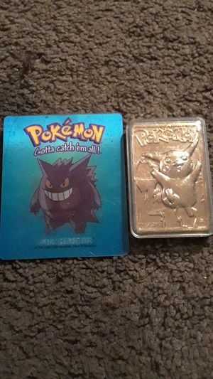 2 rare vintage Pokemon cards for Sale in NEW PRT RCHY, FL