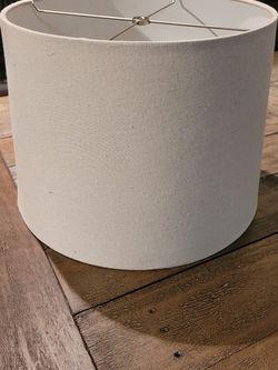 Ivory/Beige Lamp Shade for Sale in Alexandria,  VA