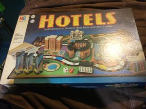 Hotels board game for Sale in Sarver, PA