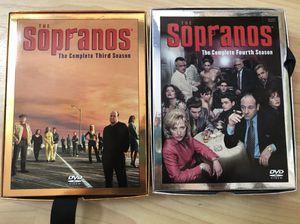 Sopranos Seasons 3 & 4 DVD sets for Sale in Falls Church, VA
