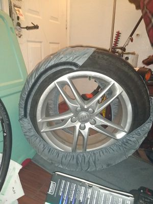 3 continental audi tires 235/55 R19 for Sale in Tacoma, WA