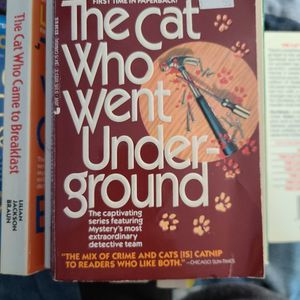 The Cat Who Went Underground, Lillian Jackson Braun, Paperback for Sale in Auburn, WA